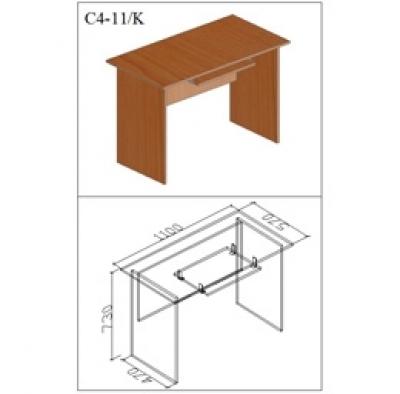 Стол офисный угловой с тумбой  санкт-петербург
